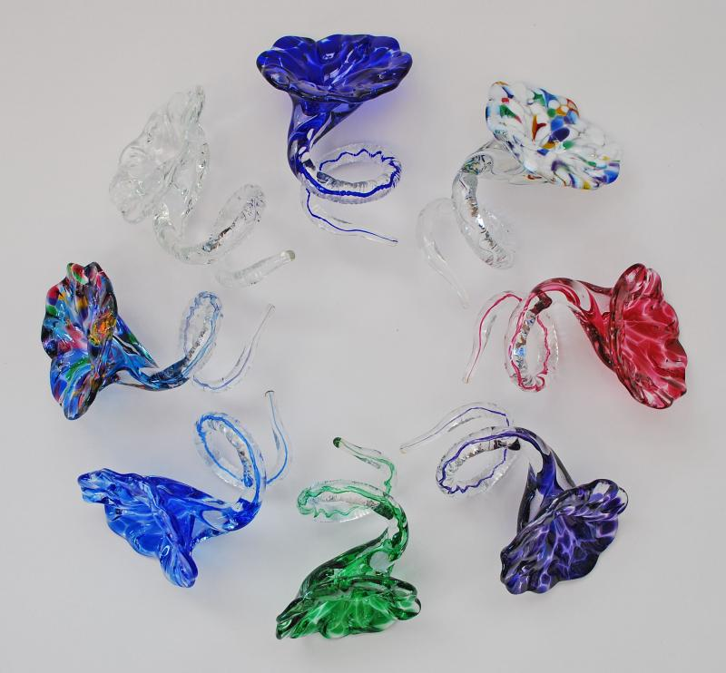 Glass Napkin Rings