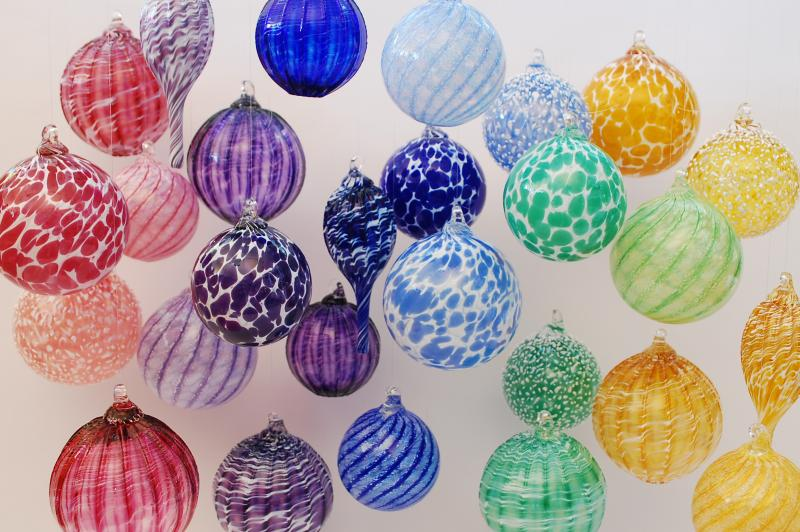 Boyce Art Glass Ornaments