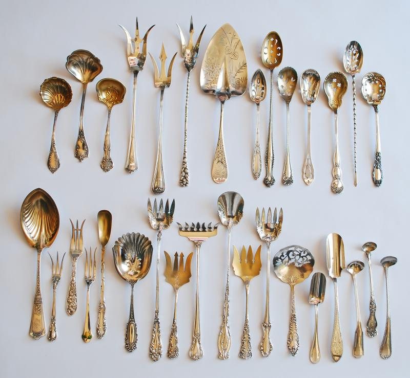 Silver Quill Antiques And Gifts Antique Silver Flatware