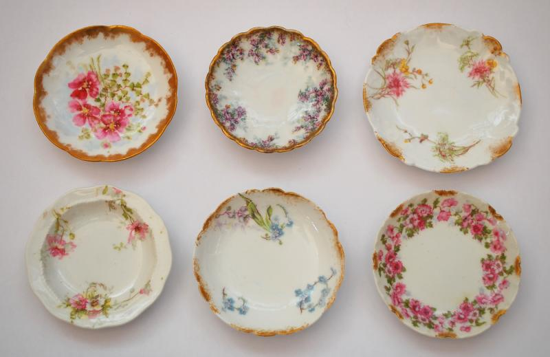 Limoges China Butter Pats