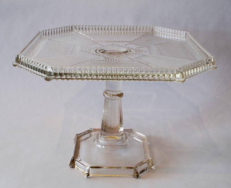 "'Pleat and Panel"" Cake Stand"
