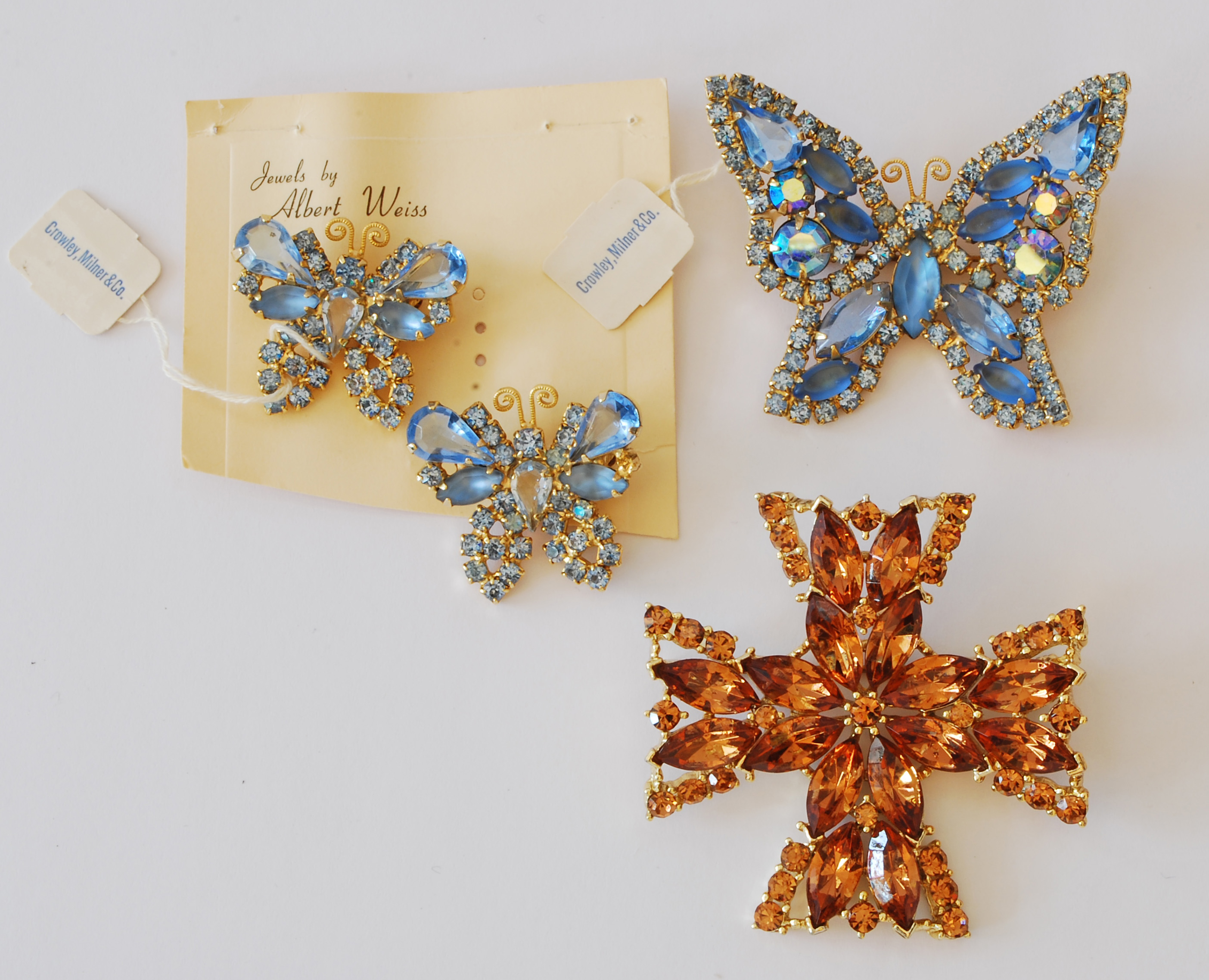 Earrings vintage costume jewelry for Vintage costume jewelry websites