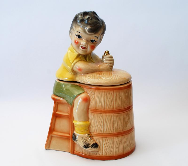 Churn Boy Cookie Jar