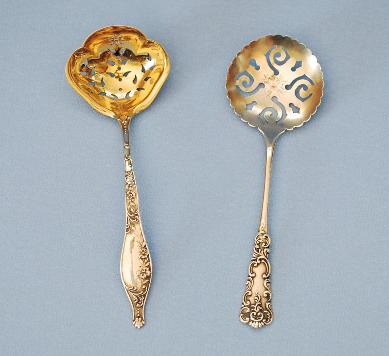 Silver Confection Spoons