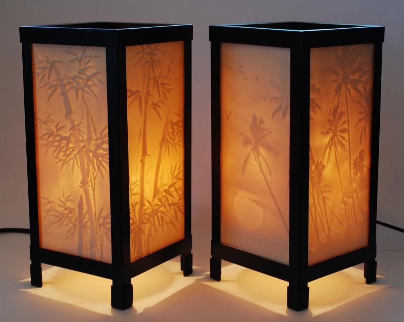Lithophane Lamps