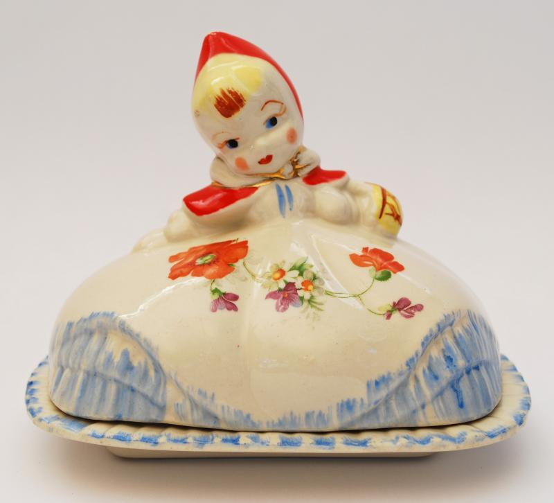 Little Red Riding Hood Butter Dish