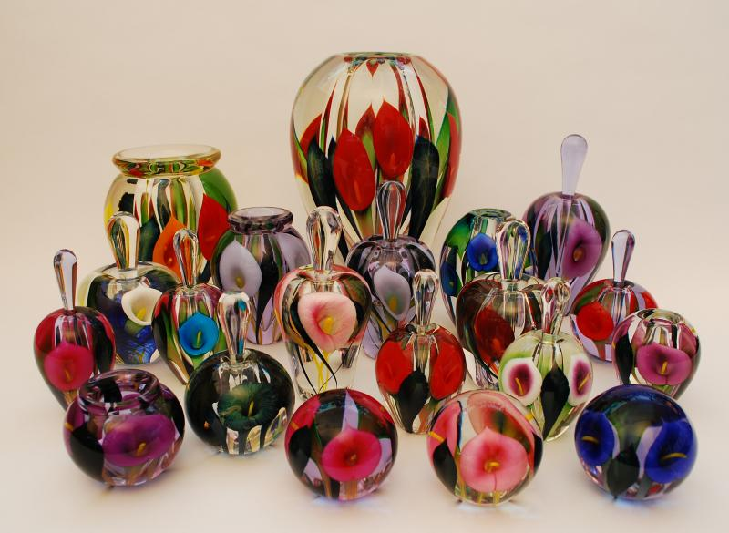 Silver Quill Antiques And Gifts Scott Bayless Glass