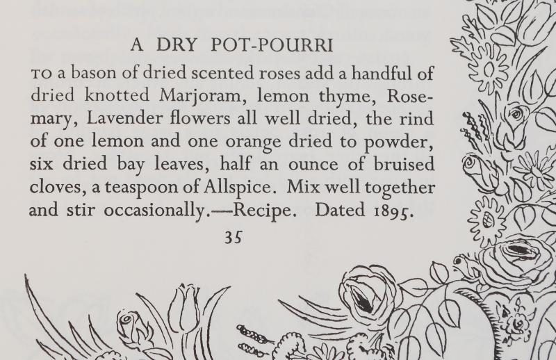 Rose Pot-pourri Recipe