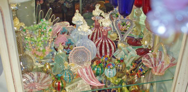 Silver Quill Antiques And Gifts Venetian Or Murano Glass